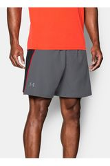 Short de Hombre Under Armour Plomo / Negro UA COOLSWITCH RUN 7 SHORT