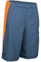 Under Armour Gris / Naranja de Jovencito modelo SKILL WOVEN SHORT Shorts Deportivo