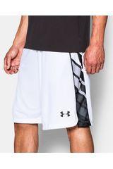 Under Armour Blanco / Negro de Hombre modelo UA SELECT 11IN SHORT Deportivo Shorts