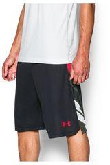 Under Armour Negro / Rojo de Hombre modelo UA SELECT 11IN SHORT Deportivo Shorts