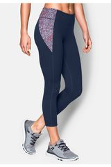 Capri de Mujer Under Armour Acero MIRROR PRINTED CROP