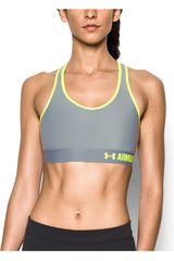 Under Armour GR/LIM de Mujer modelo ARMOUR MID SOLID Tops Deportivo