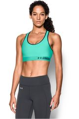 Under Armour Esmeralda de Mujer modelo ARMOUR MID SOLID Tops Deportivo