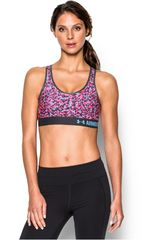 Under Armour Lila / Celeste de Mujer modelo ARMOUR MID BRA PRINTED Deportivo Tops