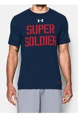 Polo de Hombre Under Armour CA SUPER SOLDIER SS T Acero