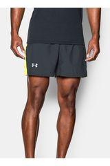 Under Armour Plomo / Amarillo de Hombre modelo LAUNCH 5 WOVEN SHORT Shorts Deportivo