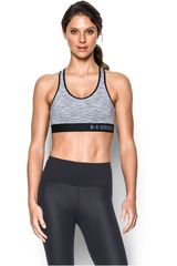 Under Armour Gris / Negro de Mujer modelo ARMOUR MID SPACE DYE Tops Deportivo