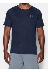 Camiseta de Hombre Under Armour Azul / Gris UA JACQUARD TECH TEE