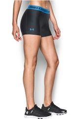 Under Armour Negro / Azulino de Mujer modelo UA HG ARMOUR SHORTY Shorts Deportivo Pantalonetas