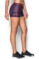 Under Armour Rosado / Acero de Mujer modelo UA HG ARMOUR PRINTED SHORTY Shorts Deportivo Pantalonetas