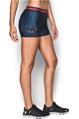 Under Armour Acero / Rosado de Mujer modelo UA HG ARMOUR PRINTED SHORTY Deportivo Pantalonetas Shorts