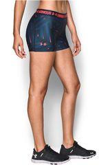 Under Armour Acero / Rosado de Mujer modelo UA HG ARMOUR PRINTED SHORTY Shorts Pantalonetas Deportivo