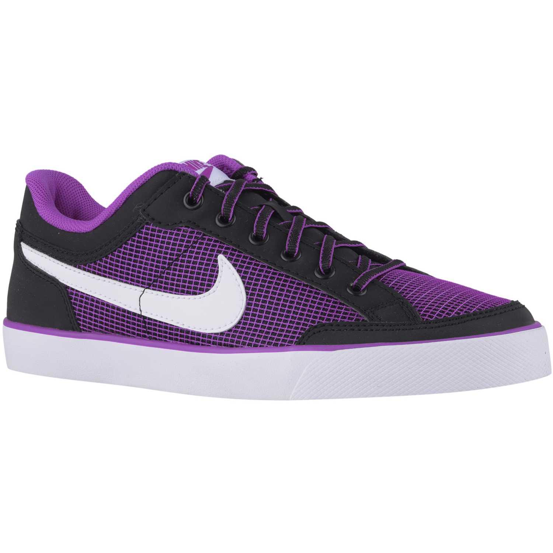 Zapatilla de Jovencita Nike Morado / Negro capri 3 txt gg