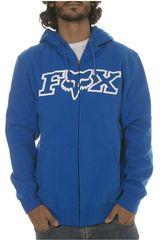 Fox Azulino de Hombre modelo LEGACY FHEADX ZIP FLEECE Casacas Deportivo Hombre Ropa