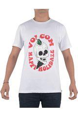 Polo de Hombre Volcom Blanco HOLIDAZE S/S TEE