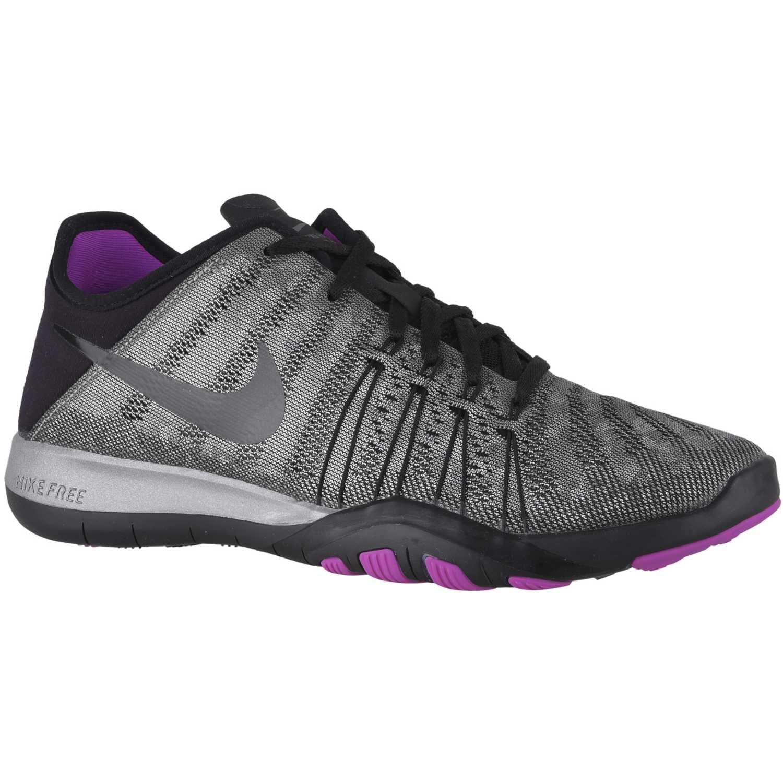 Zapatilla de Mujer Nike Gris   negro wmns free tr 6 mtlc ... 6dc5a063ec26a