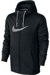 Ropa de Hombre Nike CLUB FT FZ HOODY-SWOOSH+ Negro