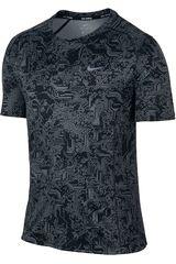 Ropa de Hombre Nike DRY UV MILER TOP SS PR Gris / Negro