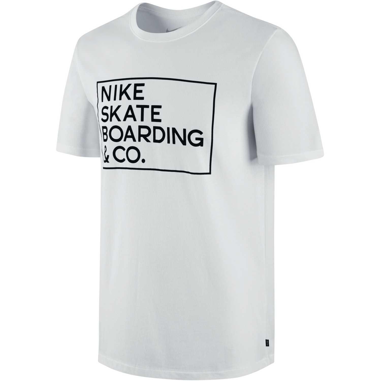 058028e63 Polo de Hombre Nike Blanco / Negro sb df skate co tee | platanitos.com
