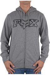 Fox Gris de Hombre modelo LEGACY FHEADX ZIP FLEECE Casual Poleras