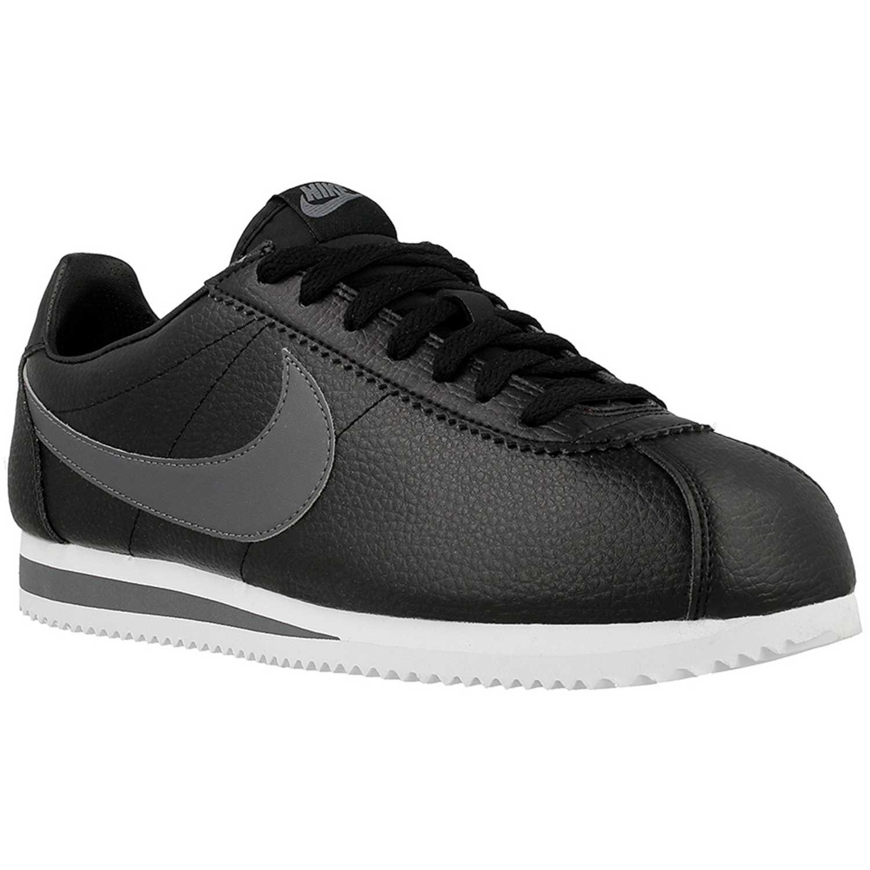 Zapatilla de Hombre Nike Negro /gris classic cortez leather