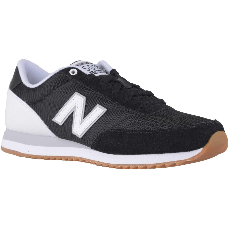 Zapatilla de Hombre New Balance Negro / Blanco mz501aah