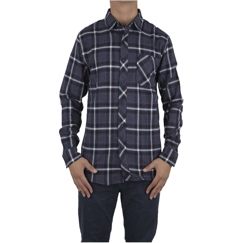 Camisa de Hombre Dunkelvolk Azul warm