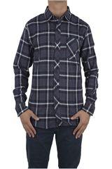 Dunkelvolk Azul de Hombre modelo WARM Camisas Casual