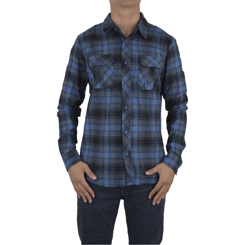 Camisa de Hombre Dunkelvolk Azul volcano