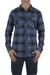 Camisa de Hombre Dunkelvolk VOLCANO Azul