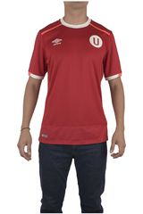 Umbro Rojo de Hombre modelo UNIV AWAY S/S JERSEY Deportivo Polos Camisetas