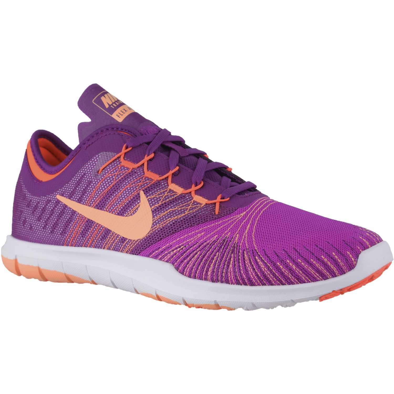 Zapatilla de Mujer Nike Lila / Naranja wmns flex adapt tr ...