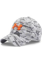 Under Armour Gris / Naranja de Hombre modelo UA PRINT BLITZING CAP Deportivo Gorros Hombre