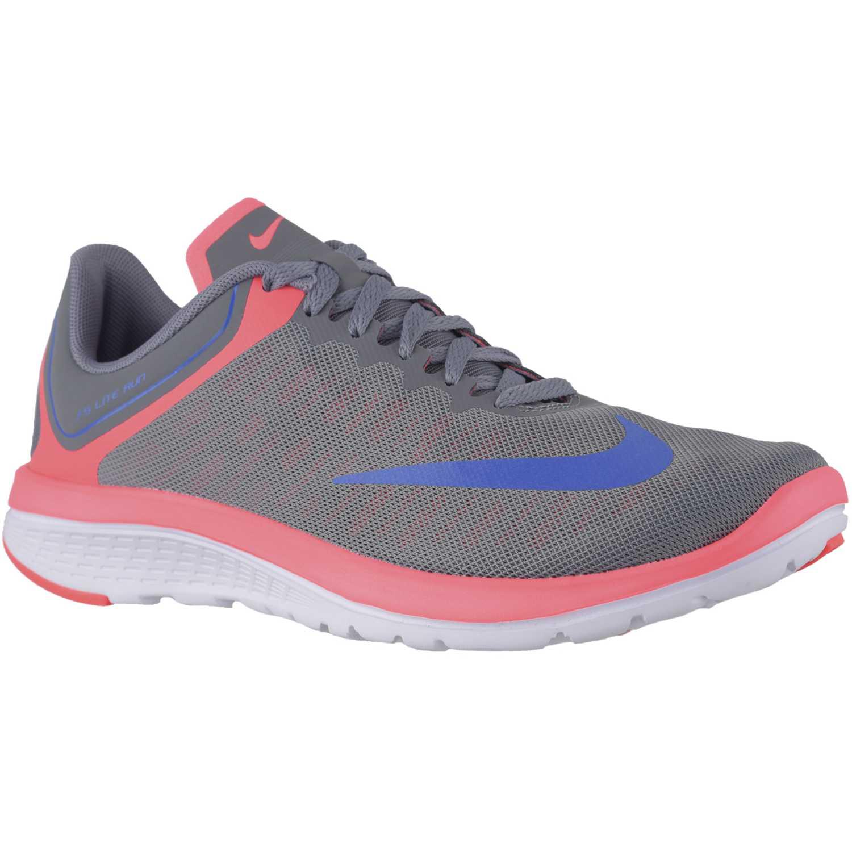 Zapatilla de Mujer Nike Gris   salmón wmns fs lite run 4 ... ce8686b0fa9a5