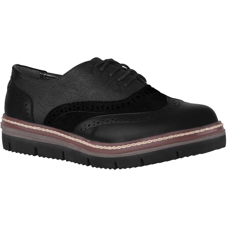 Calzado de Mujer Platanitos Negro cp-6604