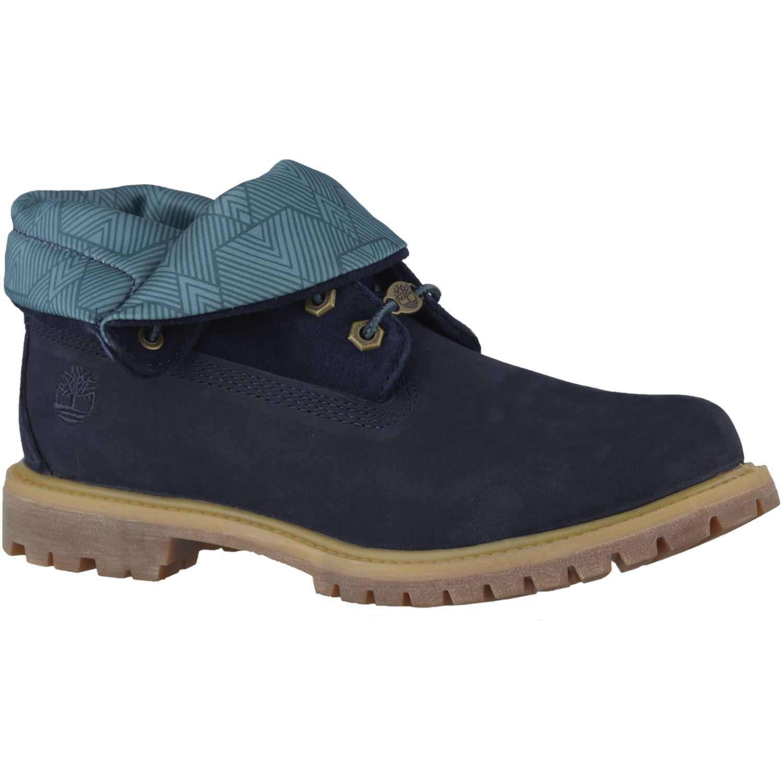 6401e1ec Calzado de Mujer Timberland Azul roll top | platanitos.com
