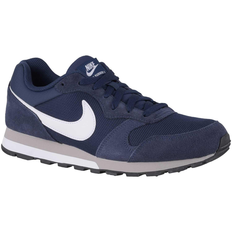 85a8edb3b069d Zapatilla de Hombre Nike Azul   blanco md runner 2