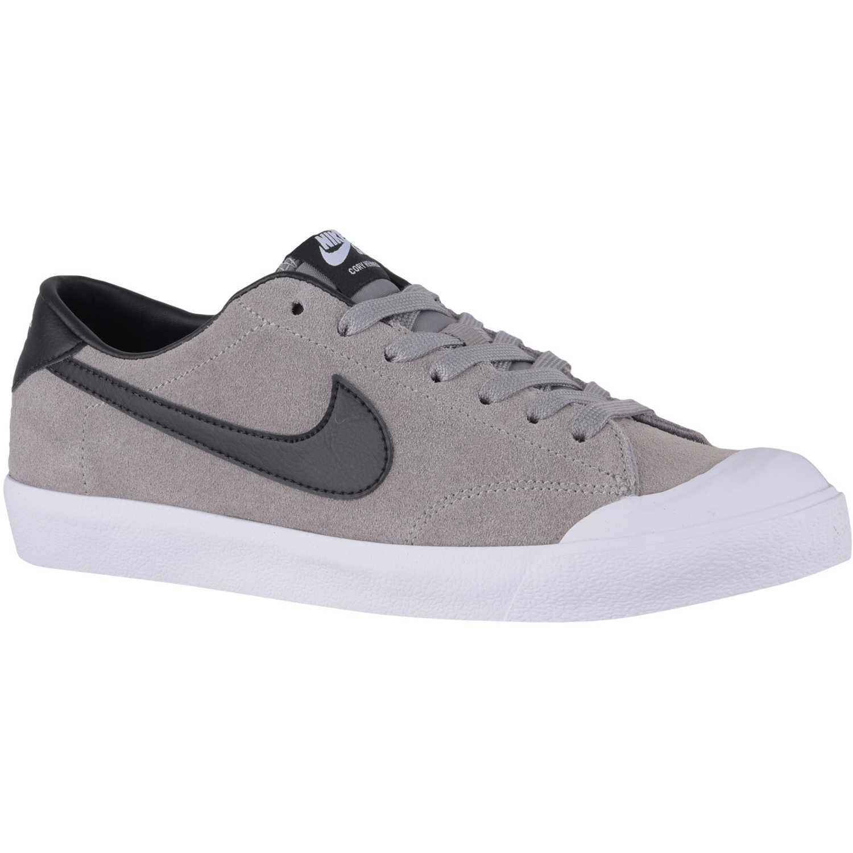 4f023adaa3d Zapatilla de Hombre Nike Gris   negro zoom all court ck