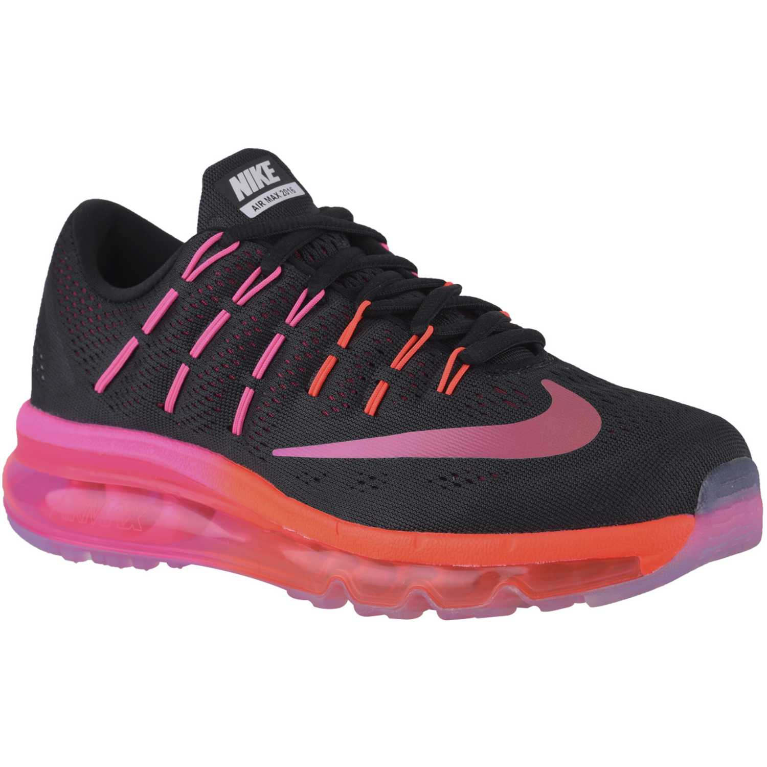 outlet store b73b9 5a042 ... coupon for zapatilla de mujer nike negro fucsia wmns air max 2016 99793  1d524