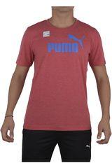 Puma Rojo / Celeste de Hombre modelo ESS NO.1 HEATHER TEE Ropa Polos Deportivo Hombre