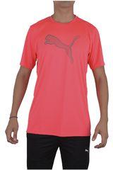 Puma Coral de Hombre modelo ESSENTIAL CAT TEE Ropa Polos Deportivo Hombre