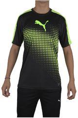Puma Negro / Verde de Hombre modelo IT EVOTRG GRAPHIC TEE Camisetas Deportivo Polos Walking Hombre Ropa