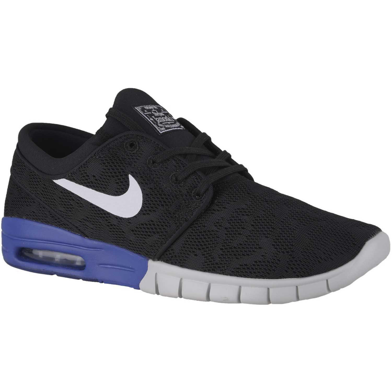 online store ca1ac 0e838 Zapatilla de Hombre Nike Negro   azul sb stefan janoski max