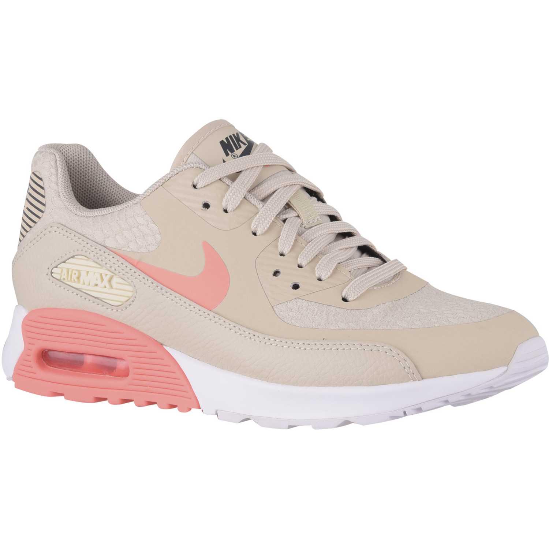 e269b7ba575ef Zapatilla de Mujer Nike Beige   Salmón wmns air max 90 ultra 2.0 ...