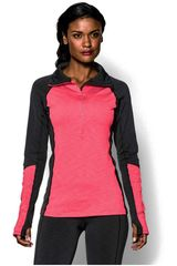 Under Armour Negro / Coral modelo CG COZY 1/2 ZIP Casual Deportivo Training Zapatillas Calzado
