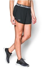 Under Armour Negro /Gris de Mujer modelo UA PERFECT PACE SHORT Deportivo Shorts