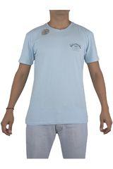 Billabong Celeste de Hombre modelo HAWAII PRO 86 TEE Hombre Polos Casual Ropa