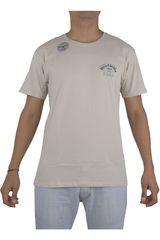 Billabong Beige de Hombre modelo HAWAII PRO 86 TEE Hombre Polos Casual Ropa