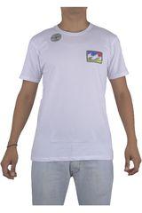 Billabong Blanco de Hombre modelo STICKER WAVE POCKII Hombre Polos Casual Ropa