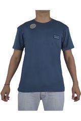 Billabong Azul de Hombre modelo BORDER DIE CUT Polos Hombre Casual Ropa